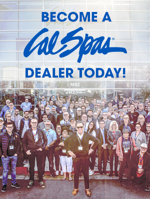 Cal Spas become a dealer