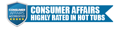 number one in hot tubs by consumer affairs