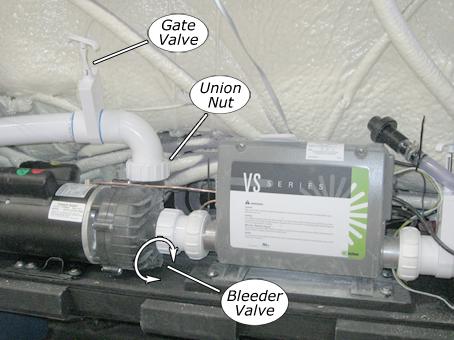 Priming pump at calspas using the bleeder valve publicscrutiny Images
